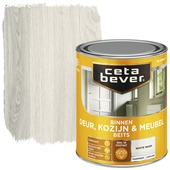 Cetabever deur, kozijn & meubelbeits transparant white wash zijdeglans 750 ml