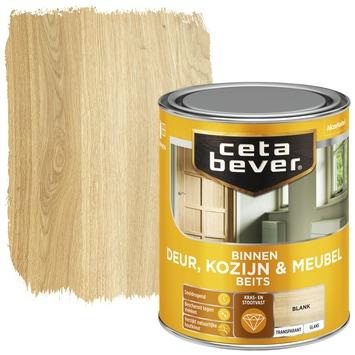 Cetabever deur, kozijn & meubelbeits transparant blank hoogglans 750 ml