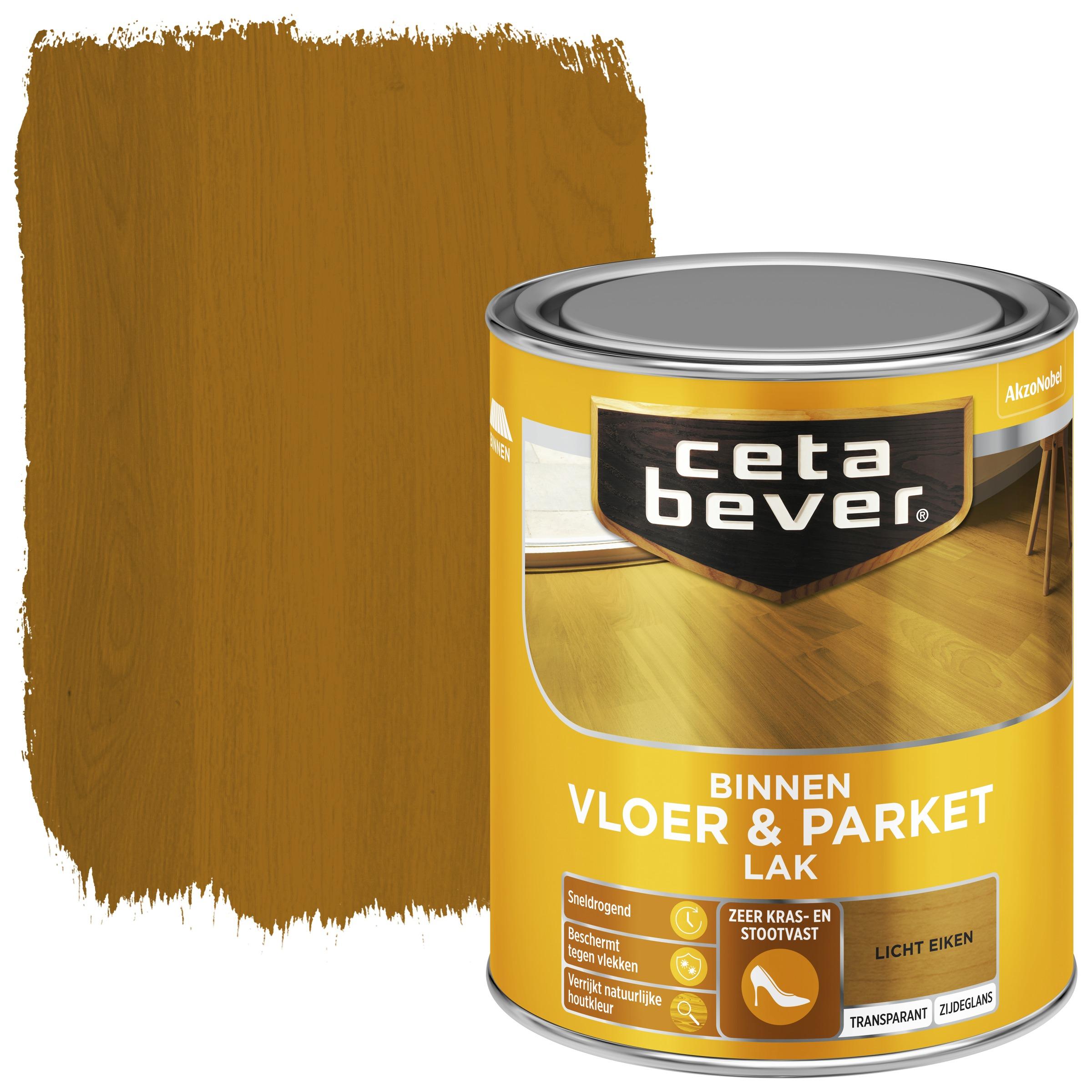 CetaBever vloer & parketlak ac 0106 licht eiken transparant 750ml