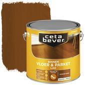 Cetabever vloer- & parketlak transparant donker eiken zijdeglans 2,5 liter
