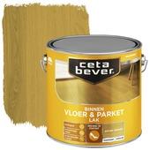 Cetabever vloer- & parketlak transparant antiek grenen zijdeglans 2,5 liter