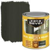 Cetabever deur, kozijn & meubelbeits transparant black wash zijdeglans 750 ml