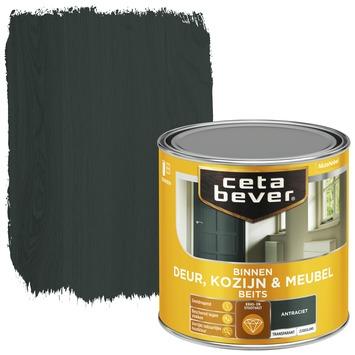 Cetabever deur, kozijn & meubelbeits transparant antraciet zijdeglans 250 ml