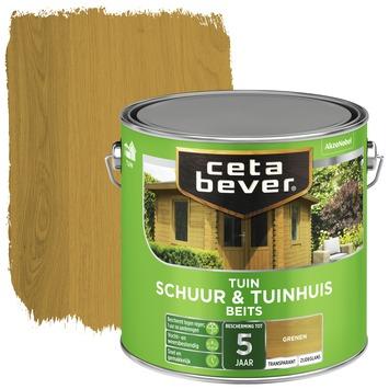 Cetabever schuur & tuinhuis beits transparant grenen zijdeglans 2,5 liter