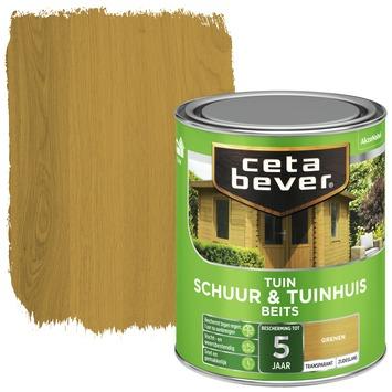 Cetabever schuur & tuinhuis beits transparant grenen zijdeglans 750 ml