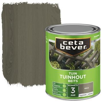Cetabever tuinhout beits transparant grijs zijdeglans 750 ml