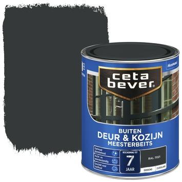 Cetabever deur & kozijn meesterbeits dekkend zijdeglans RAL 7021 750 ml