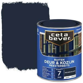 Cetabever deur & kozijn meesterbeits dekkend zijdeglans gelders blauw 750 ml