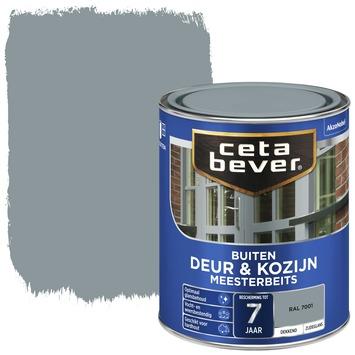 Cetabever deur & kozijn meesterbeits dekkend zijdeglans RAL 7001 750 ml