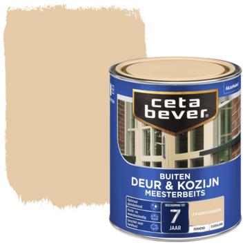 Cetabever deur & kozijn meesterbeits dekkend zijdeglans zandsteengeel 750 ml