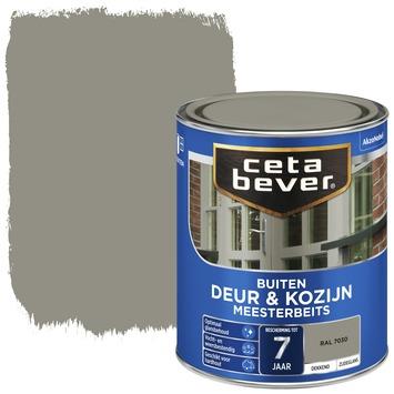 Cetabever deur & kozijn meesterbeits dekkend zijdeglans RAL 7030 750 ml