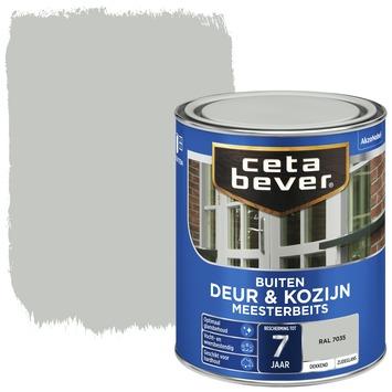 Cetabever deur & kozijn meesterbeits dekkend zijdeglans RAL 7035 750 ml