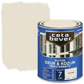 Cetabever deur & kozijn meesterbeits dekkend zijdeglans RAL 9001 750 ml