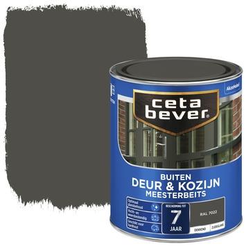Cetabever deur & kozijn meesterbeits dekkend zijdeglans RAL 7022 750 ml