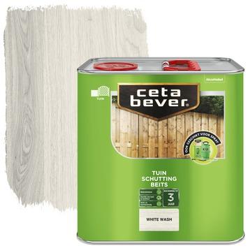 Cetabever schuttingbeits white wash 2,5 liter