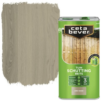 Cetabever schuttingbeits grey wash 5 liter