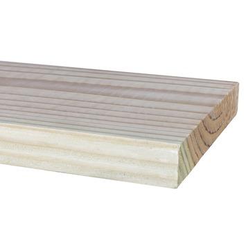 Douglas vlonderplank 2,8 x 19,5 x 300 cm 1 zijde geschaafd 1 zijde fijnbezaagd