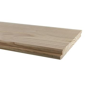 Halfhout rabatdeel Douglas geschaafd ca. 1,8x19,5, lengte ca. 300 cm