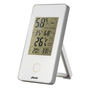 Alecto WS-75 Binnen thermo- en hygrometer