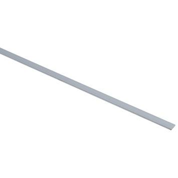 Platprofiel aluminium 10x2 mm 1 meter