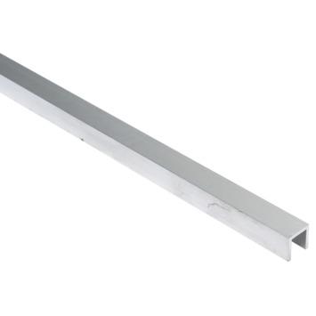U-profiel aluminium 15x15x15x2 mm 1 meter