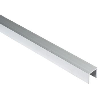 U-profiel aluminium 20x20x20x2 mm 1 meter
