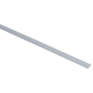 Platprofiel aluminium 15x2 mm 1 meter