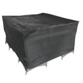 Hoes Vierkant Grijs Polyester 180x180 cm