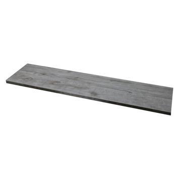 Terrastegel Keramisch Houtlook Grijs 30x120 cm - 64 Tegels / 23,04 m2