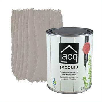 Lacq Produra buitenbeits transparant white clay mat 1 liter