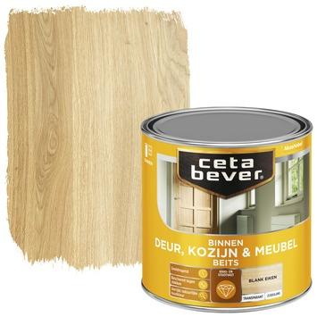 Cetabever deur, kozijn & meubelbeits transparant blank eiken zijdeglans 250 ml