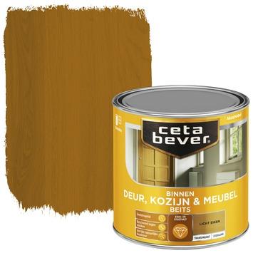 Cetabever deur, kozijn & meubelbeits transparant licht eiken zijdeglans 250 ml