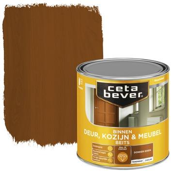 Cetabever deur, kozijn & meubelbeits transparant donker eiken zijdeglans 250 ml