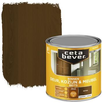 Cetabever deur, kozijn & meubelbeits transparant noten zijdeglans 250 ml