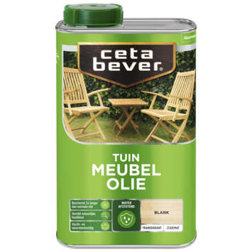 Cetabever tuinmeubelolie waterproof 1 liter