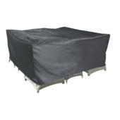 Hoes Vierkant Grijs Polyester 245x245 cm