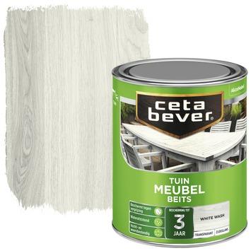 Cetabever tuinmeubelbeits white wash 750 ml