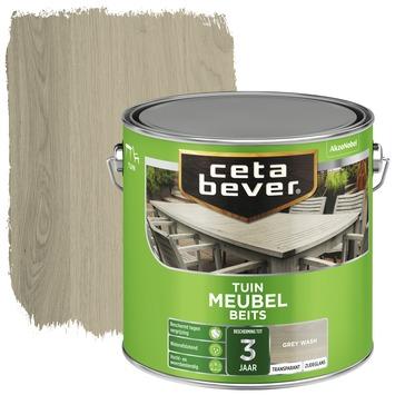 Cetabever tuinmeubelbeits grey wash 2,5 liter