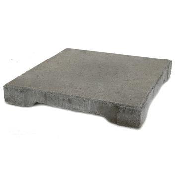 Terrastegels Beton 30x30.Dreentegel Beton Grijs 30x30 Cm Per Tegel 0 09 M2