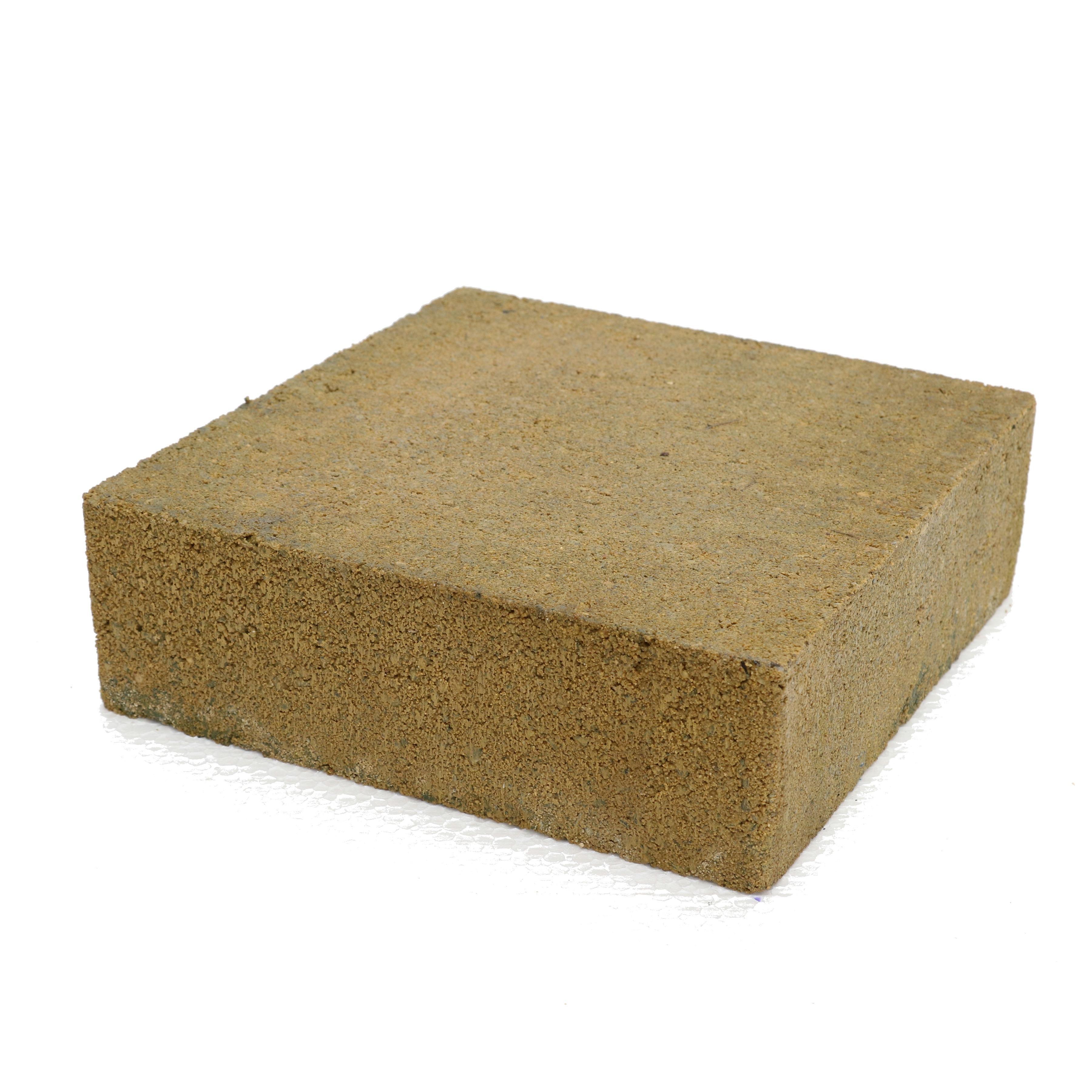 Trommelsteen Beton Plano Geel 21x21x7 cm - 162 Stuks - 6,48 m2