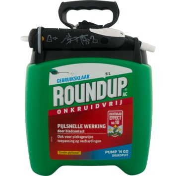Roundup Natural Drukspuit 5L