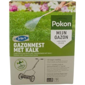 Pokon Gazonmest met Kalk 3-in-1 1 kg