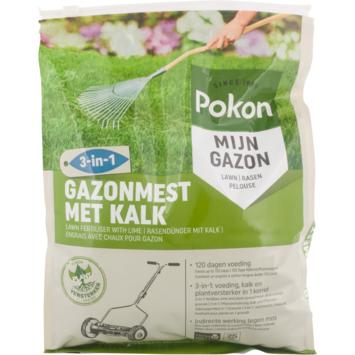 Pokon Gazonmest met Kalk 3-in-1 5kg