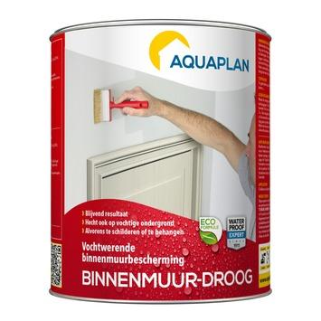 Aquaplan vochtwering binnenmuur-droog 0,75 liter