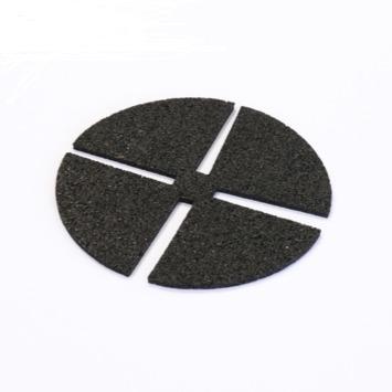 Tegeldrager Rubber Zwart 2,5 mm
