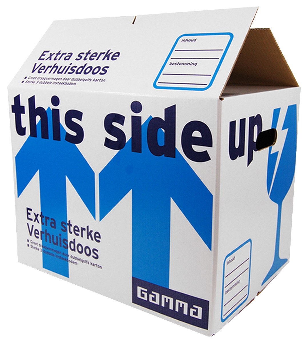 GAMMA verhuisdoos extra sterk karton wit 47,5x32x35 cm