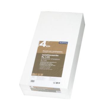 GAMMA isolatieplaat polystyreen EPS 100x50x4 cm 6 platen