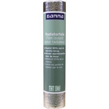 GAMMA radiatorfolie 600x50 cm 3 m²