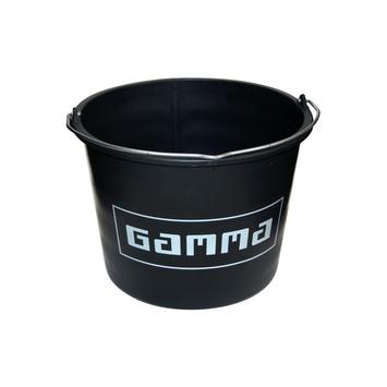 GAMMA bouwemmer zwart 12 liter