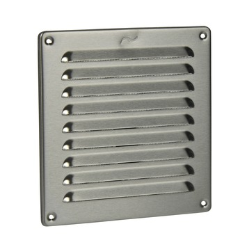 IVC Air schoepenrooster RVS 19,5x19,5 cm